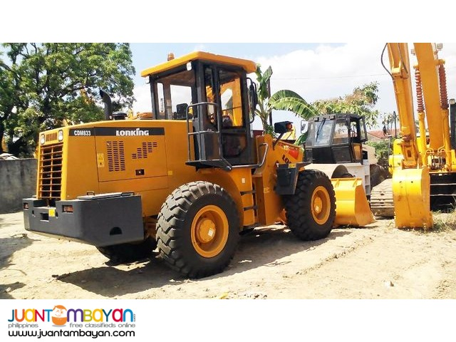 Lonking Brand new CDM833 Wheel Loader