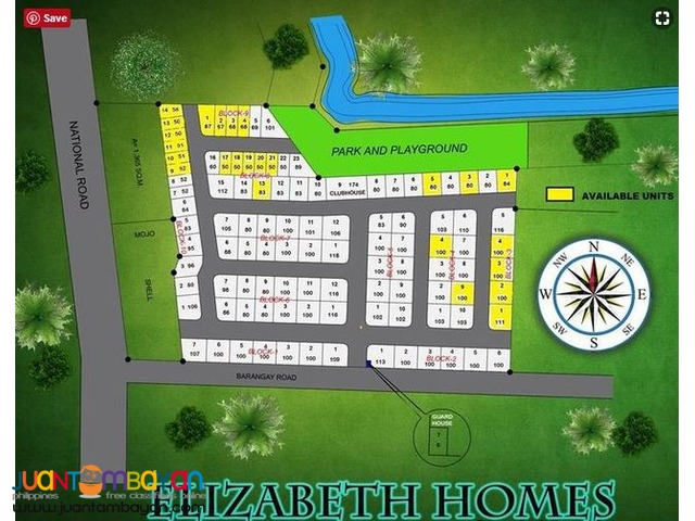 TYA- Pre-selling Townhouse at Elizabeth Homes Guinsay Danao Cebu