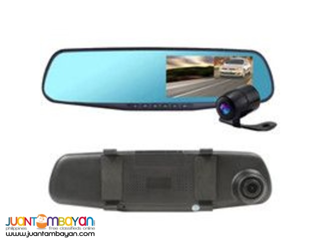 DUAL LENTS CAR DVR CAMERA