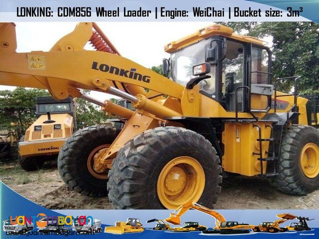 CDM856 Wheel Loader (Weichai Engine) 3m3