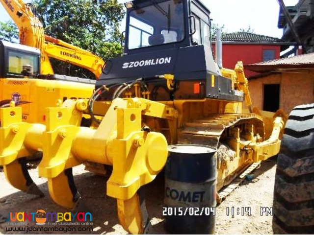 ZD320-3 Bulldozer with ripper
