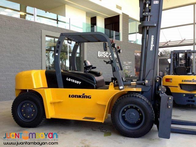 LG100DT(10tons)Forklift