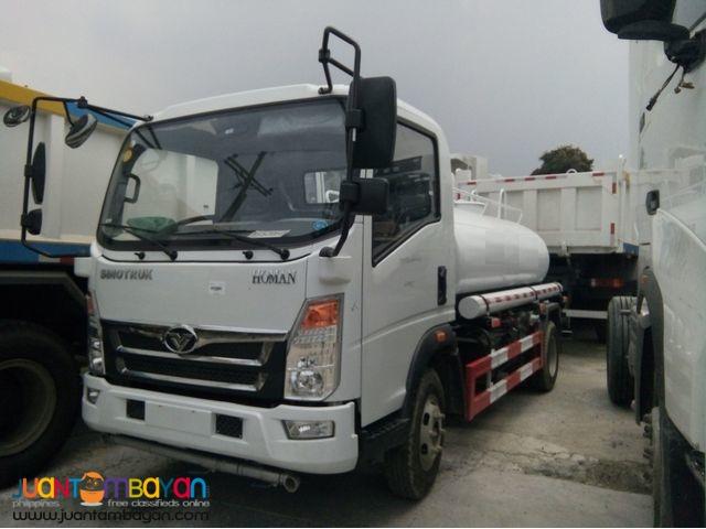 H3 Homan Fuel Truck 4KL Sinotruk 6wheeler