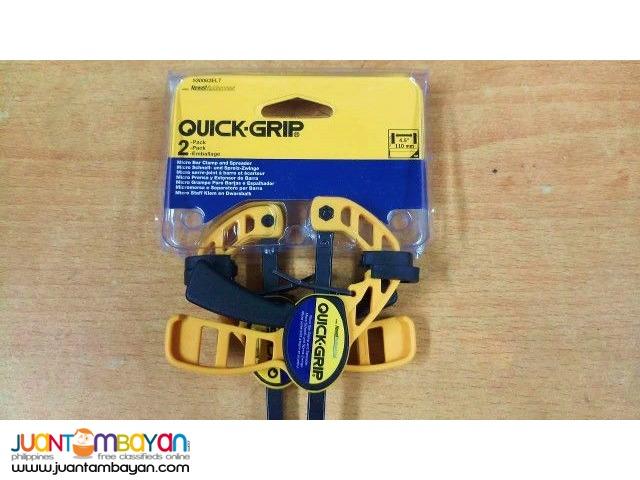 Quick Grip 530062EL7 Micro Bar Clamp & Spreader, 2-pack