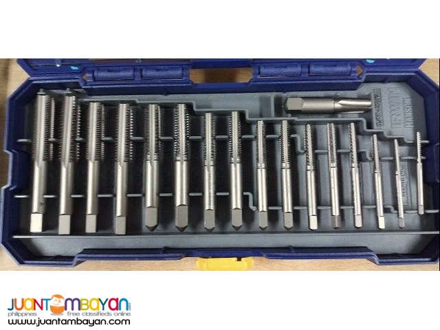 Irwin 4935062 41-piece PTS Fractional Plug Tap and Die Set