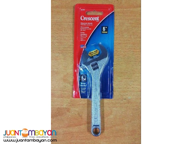 Crescent AC16V 6-inch Extra Wide Capacity Adjustable Wrench
