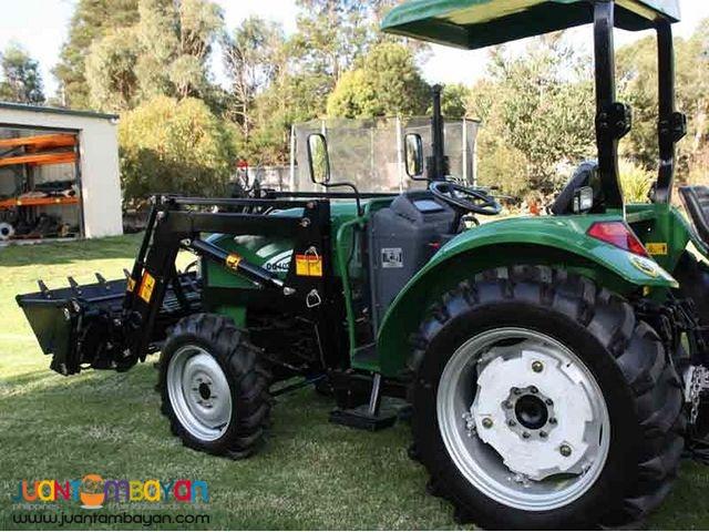FARM TRACTOR MULTIPURPOSE BACKOE LOADER DE Brand New