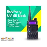 BAOFENG UV-5R 5W DUAL BAND TWO WAY RADIO WALKIE TALKIE