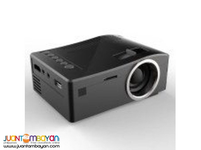 UNIC UC18 1080P MINI LCD PROJECTOR WITH REMOTE CONTROL 48 LUMENS