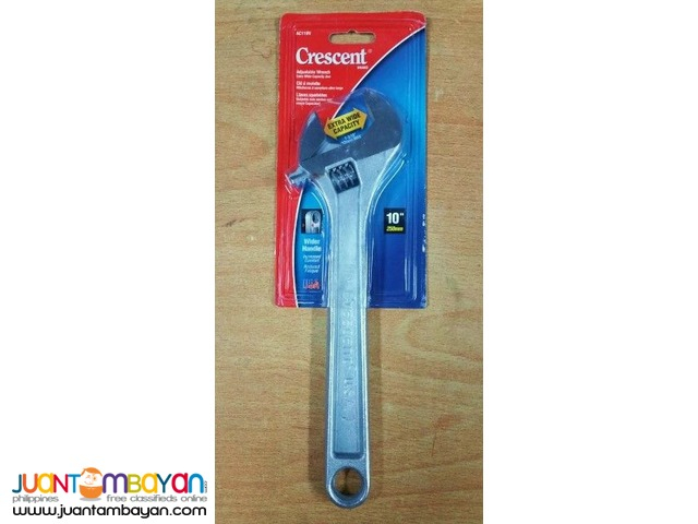 Crescent AC110V 10-inch and AC16V 6-inch Adjustable Wrench Combo