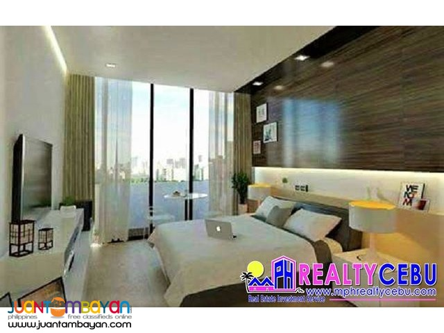JTower Residences in Mandaue City | 35m² Studio Condo Unit