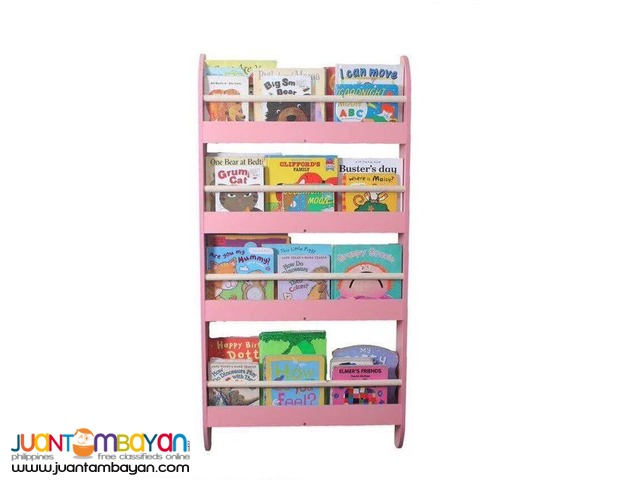 Wall Bookrack - Pink