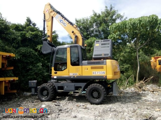 XCMG Brand new wheel Backhoe excavator