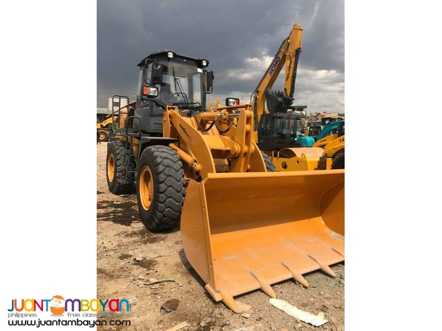 lonking wheel loader cdm833 1.7to2.0 cubic