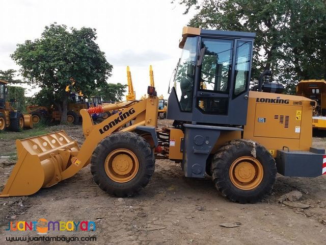 lonking wheel loader cdm816 .87to1.0 cubic