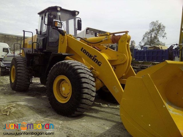 CDM860 Payloader 3.5cubic Wheel Loader Lonking for sale
