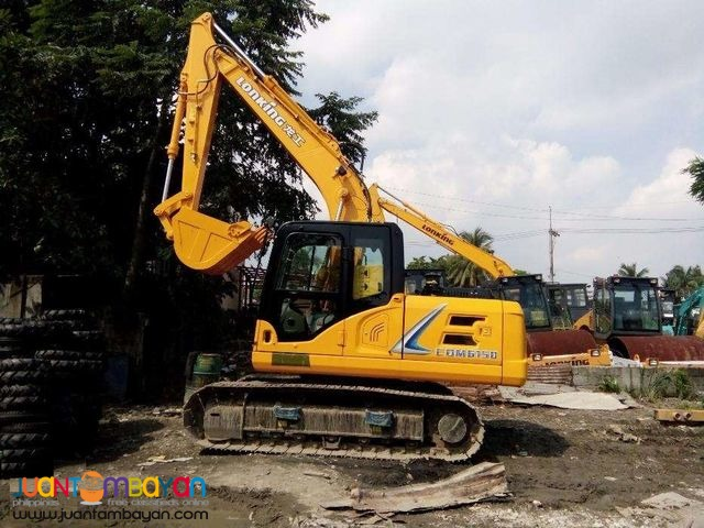 CDM6150 Backhoe Hydraulic Excavator 0.56cubic Lonking For sale