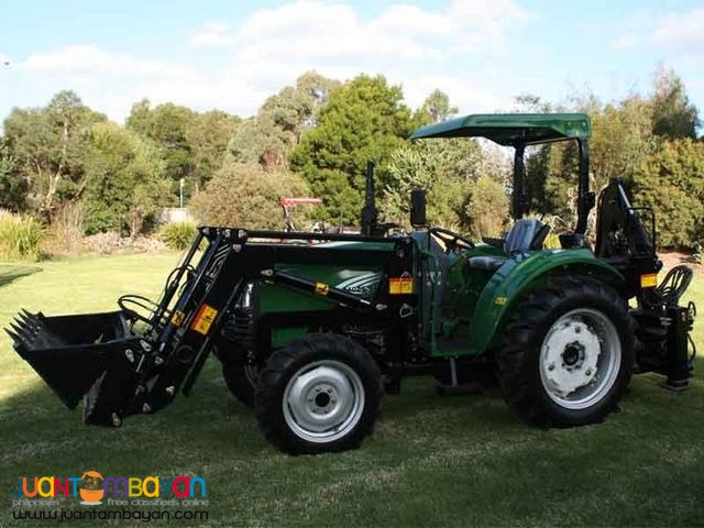 DE Farm Tractor 0.23cubic Backhoe Loader For sale