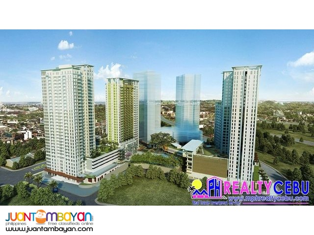 30 m² CONDO UNIT FOR SALE AT SOLINEA TOWERS CEBU BUSINESS PARK