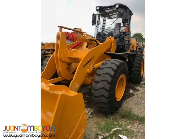 lonking wheel loader cdm843 2.3to2.5 cubic