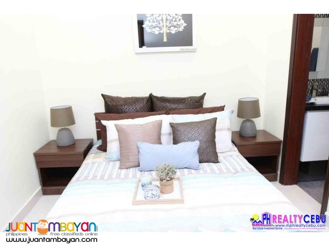 2 BR 45.84 m² FULLY FURNISHED CONDO AT LE MENDA RES BUSAY CEBU