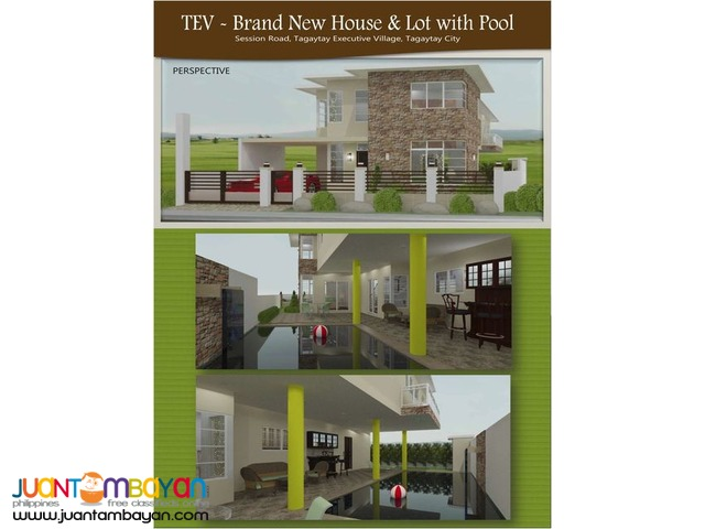 Tagaytay Brand New House with Pool
