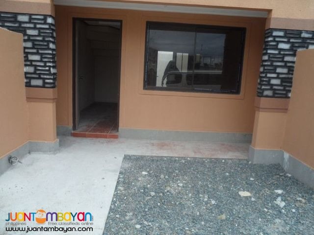 Townhouse with Security  near Wilcon HBC Mindanao Ave,QC
