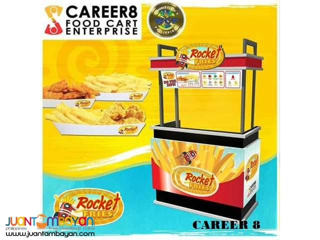 All in Franchise Business Ready to Operate Food Cart Promo