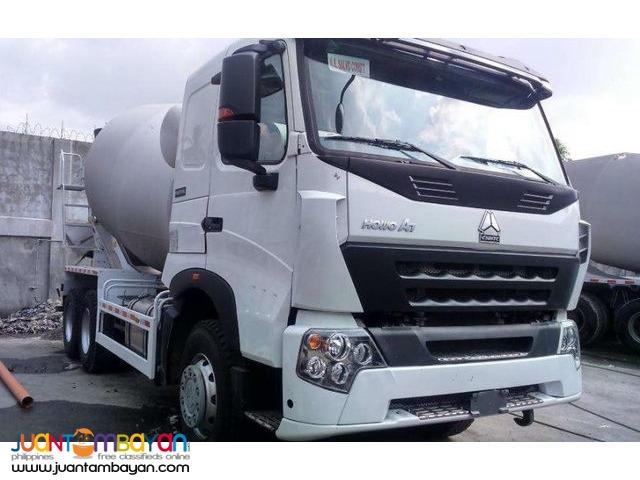 Sinotruk Euro4 10 wheeler HOWO-A7 Mixer Truck 10 cubic