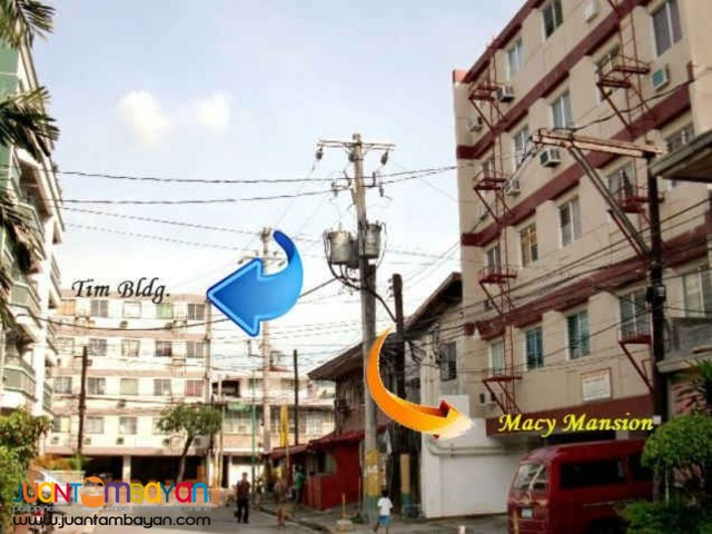 Macy Mansion Condo Makati Condo Studio &1-Br 10K Monthly