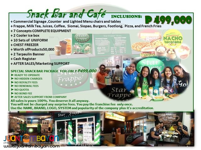 Food Cart and Mall Cart Franchise Business