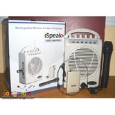 iSpeak SH822 Portable Sound System Wireless Sound System Lapel