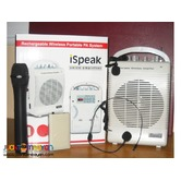 iSpeak SH222u Portable Sound System Wireless Sound System Lapel