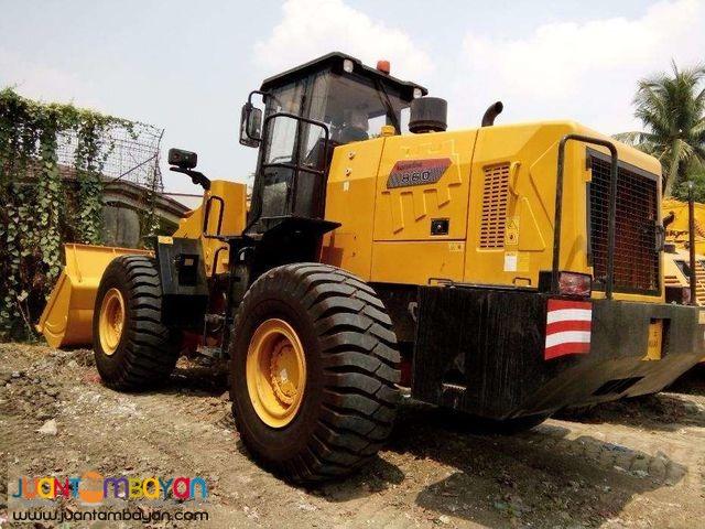 lonking cdm860 wheel loader  operating weght 21.5 tons