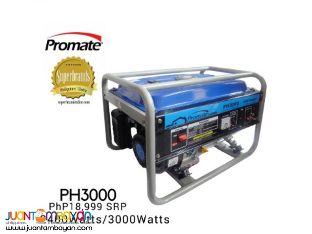 Promate PH3000 Portable Gasoline Generator