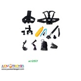 AT257 ACTION CAMERA 9 IN 1 ACCESSORIES KIT