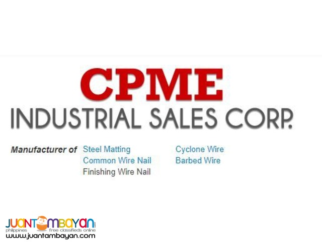 Steel Supply Philippines - CPME Industrial Sales Corp.