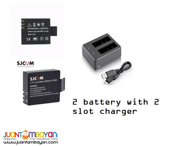 ACTION CAMERA BATTERY WITH FREE CHARGER