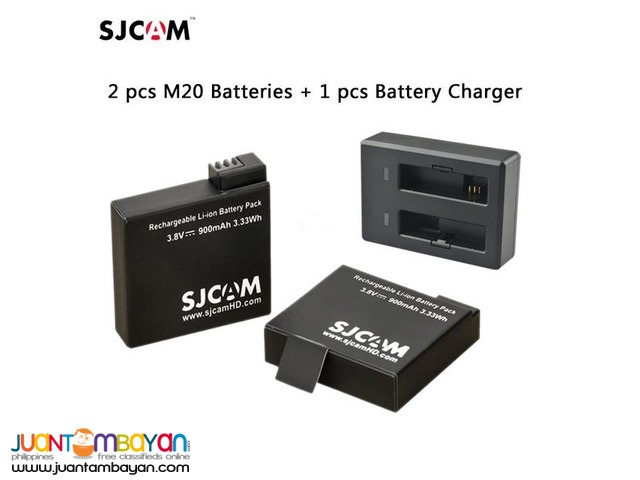 SJM20 BATTERY WITH FREE CHARGER