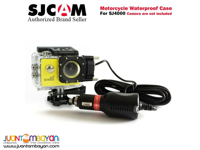 MOTORCYCLE WATERPROOF CASE FOR SJCAM SJ4000 SERIES