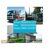 10 wheeler drop side boom truck 10 wheeler wing van for rent