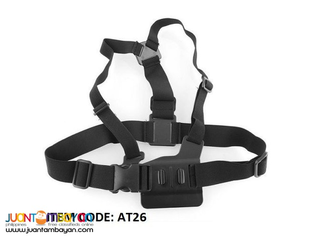 ADJUSTABLE ELASTIC CHEST HARNESS STRAP