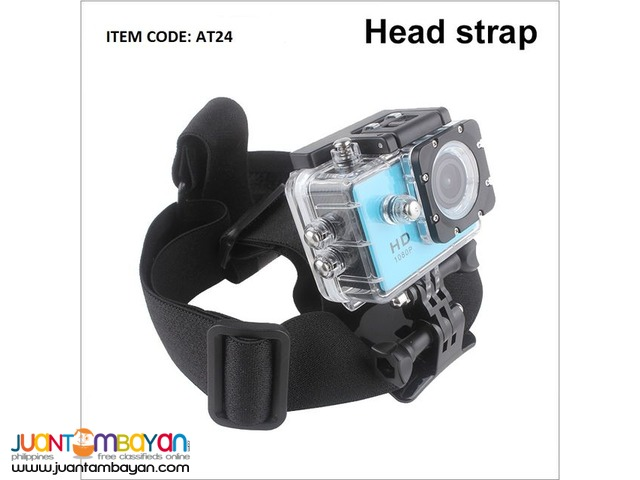 ACTION CAMERA HIGH QUALITY ELASTIC HEAD STRAP