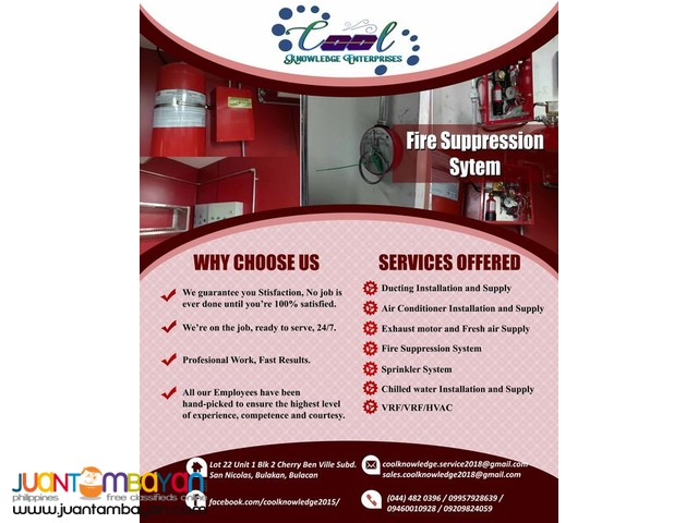 Fire Suppression and Fire protection System