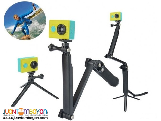 3-WAY MONOPOD, GRIP EXTENSION, TRIPOD STAND