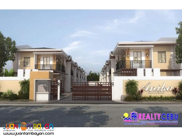 KIM MODEL (Townhouse) in Anika Homes Cebu City