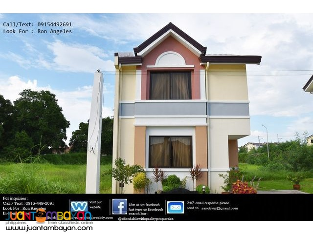 House and lot in Molino Cavite 38,868 monthly