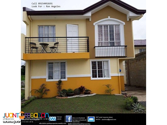 House and lot in General Trias Cavite 23,644 monthly