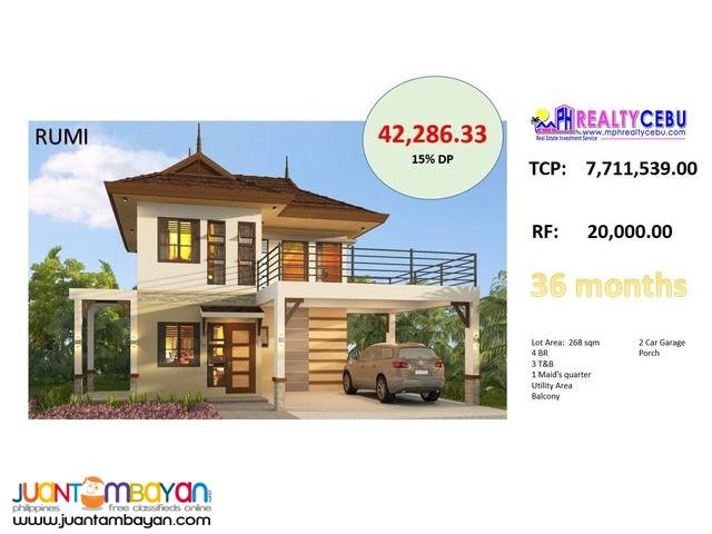 Rumi Model 4BR House - Fonte Di Versailles Minglanilla