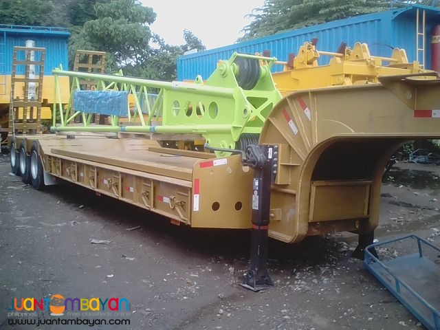 lowbed tri-axle trailer 45 tons